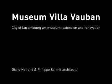 Museum Villa Vauban City of Luxembourg art ... - Copper Concept