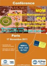 MDM et PLM 17 Novembre 2011 - Productlife