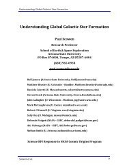 Understanding Global Galactic Star Formation - Cosmic Origins ...
