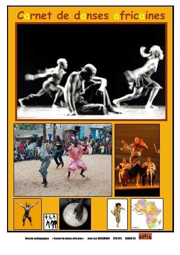 Carnet de danses africaines