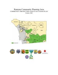Ramona Community Planning Area - County of San Diego