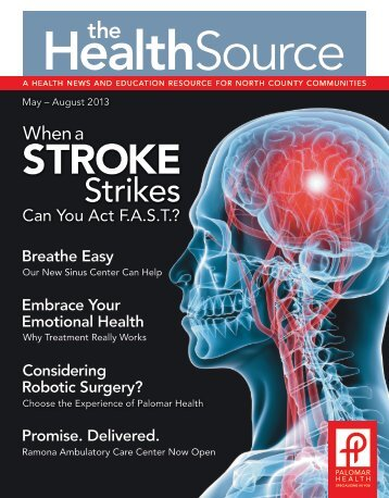 May – August 2013 - Palomar Health