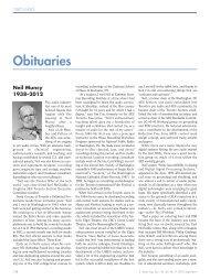 Obituaries - Audio Engineering Society