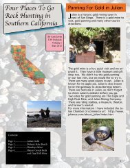 Four Places To Go Rock Hunting in Southern California