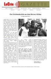 Ein Zwischenbericht aus dem Herzen Afrikas - Andreas Frowein