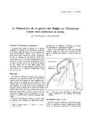 Le Moustérien de la grotte des Eugles en Chartreuse - Revue de ...