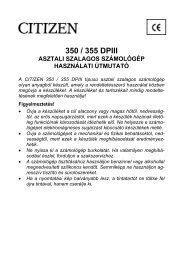 350 / 355 DPIII - Esselte