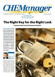 The Right Key for the Right Lock - GIT Verlag