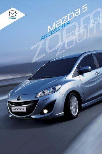 Katalog akcesoria Nowa Mazda 5
