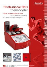 Tprofessional TRIO Thermocycler - Biometra
