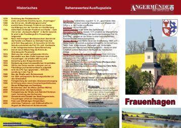 Frauenhagen - Angermünde