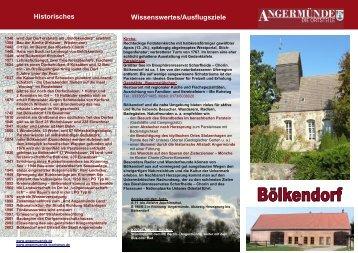 NGERM Ü NDE A Uckermark Wissenswertes ... - Angermünde