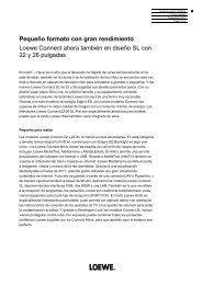 08_Loewe_Connect 22_26_SL_es - Loewe AG > Aktuell