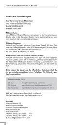 Anfahrtsbeschreibung (s. Einladung S. 22-23) - Wacker Neuson SE