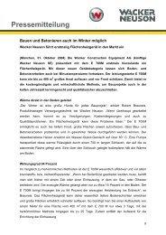 Pressemitteilung - E700M Flächenheizgerät - PDF 40 KB