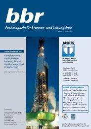 Technik - H. Angers Söhne Bohr- und Brunnenbaugesellschaft mbh