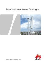 Base Station Antenna Catalogue - Index of