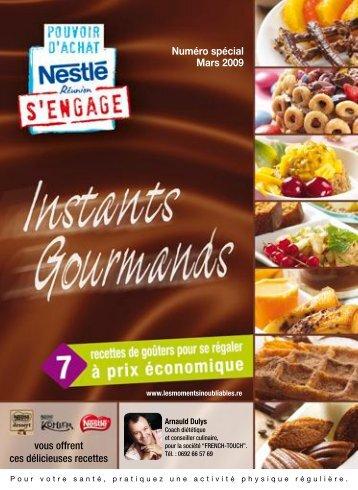 Petit Déjeuner - Le Club Nestle