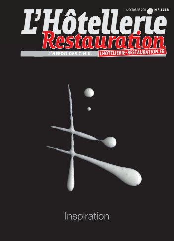 n ° 3258 6 octobre 2011 - L'Hôtellerie Restauration