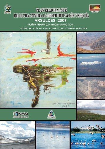 plan regional sur de lucha contra la desertificación y sequía ... - UCSM