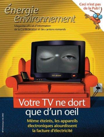 télécharger le magazine (1,6 Mo, pdf) - Energie-environnement.ch