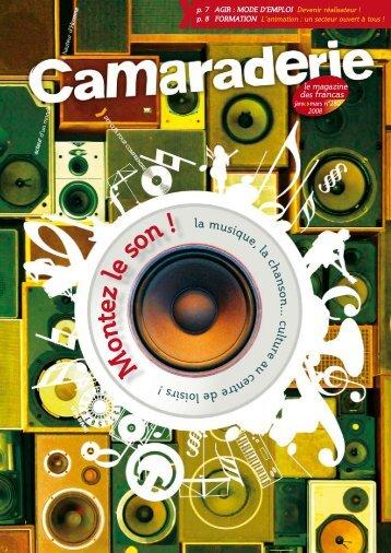Camaraderie n°280.pdf - Portail éducation - les Francas