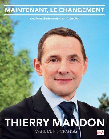 Téléchargez le programme - Thierry Mandon