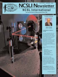 VOL 45, NO 1, JANUARY 2005 - NCSL International