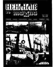 HEHeHeİlB - TMMOB Makina Mühendisleri Odası Arşivi - Makina ...