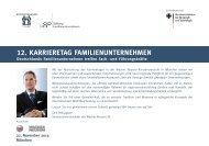 12. karrieretag familienunternehmen - Wacker Neuson SE