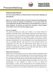 Pressemitteilung - EH6 und EHB 7 - PDF 33 KB - Wacker Neuson SE