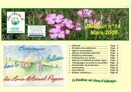 Bulletin n° 14 - Accueil Paysan Rhône-Alpes - Free