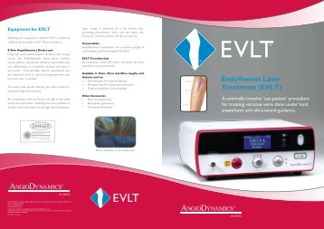 Endovenous Laser Treatment (EVLT)