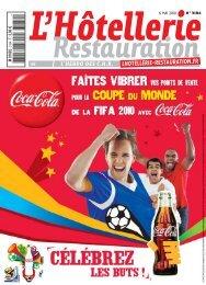 'Pianos et fours' du magazine de mai 2010 - L'Hôtellerie Restauration