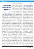 W CIENIU CZEPKA - Dolnośląska Okręgowa Izba Pielęgniarek i ... - Page 6