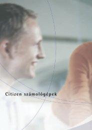 Citizen számológépek - Esselte
