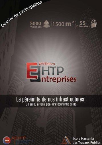 Dossier Sponsoring - Forum EHTP Entreprises