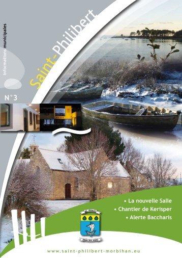 Bulletin municipal n° 3 - Saint-Philibert