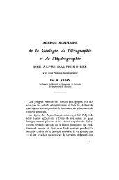 de la Géologie, de l'Orographie et de l'Hydrographie - Revue de ...