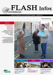 Flash Infos Février - Ville de Wavrin