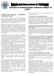 Informationen des Verbandes für Angeln und Naturschutz Thüringen ...