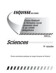 Sciences - Cforp.ca