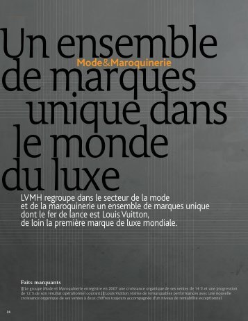 Mode & Maroquinerie (PDF-1270 ko) - LVMH