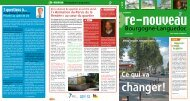 Publication du journal Re-nouveau - Massy