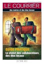 GUIDE PRATIQUE - Courrier des maires