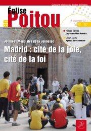 Journées Mondailes de la Jeunesses - Diocèse Poitiers
