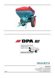 DPA XLT - Sulky Burel