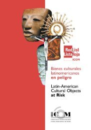 Download red list - The International Council of Museums