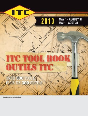 over 300 tools Plus de 300 outils - ITC