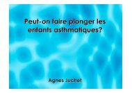 Asthme et plongée - CHU Toulouse